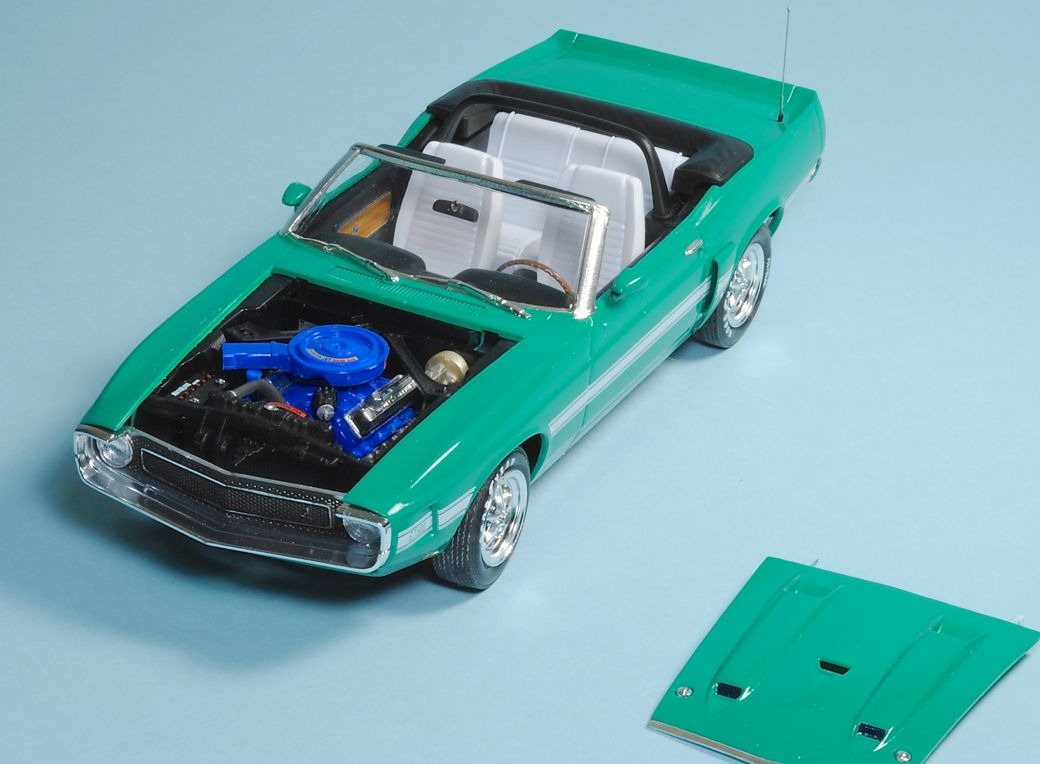 Review 69 Shelby Gt500 Convertible Ipms Usa Reviews