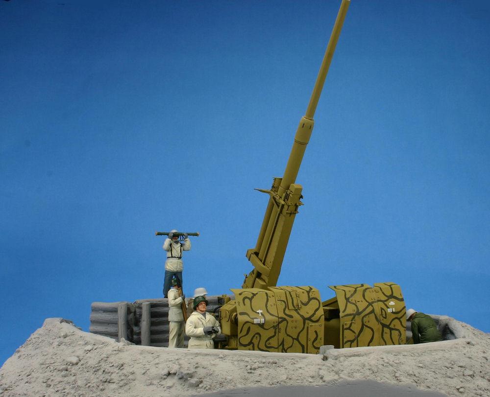 Bronco 88mm L71 FlaK 41 AA Gun – photo preview | Modelers ...