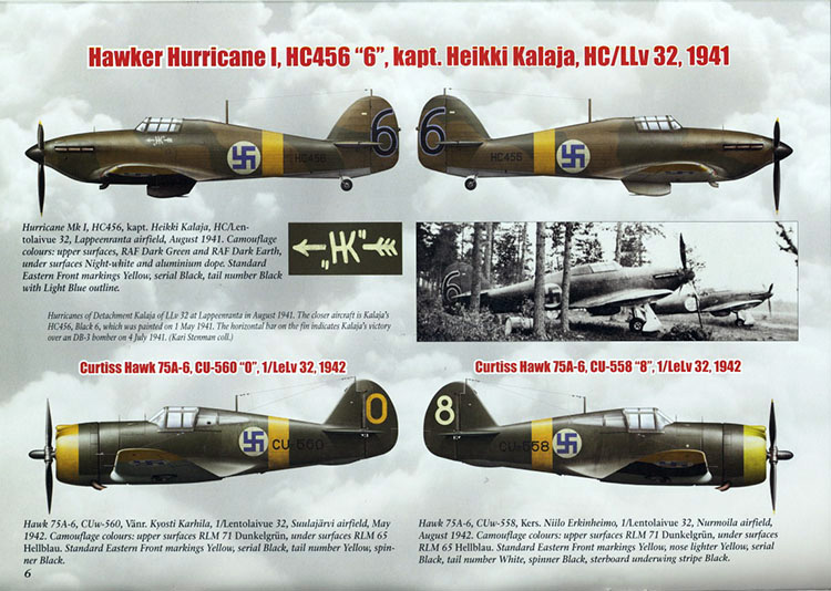 Review Camouflage Amp Decals 4 Finnish Fighters Wwii Ipms Usa Reviews