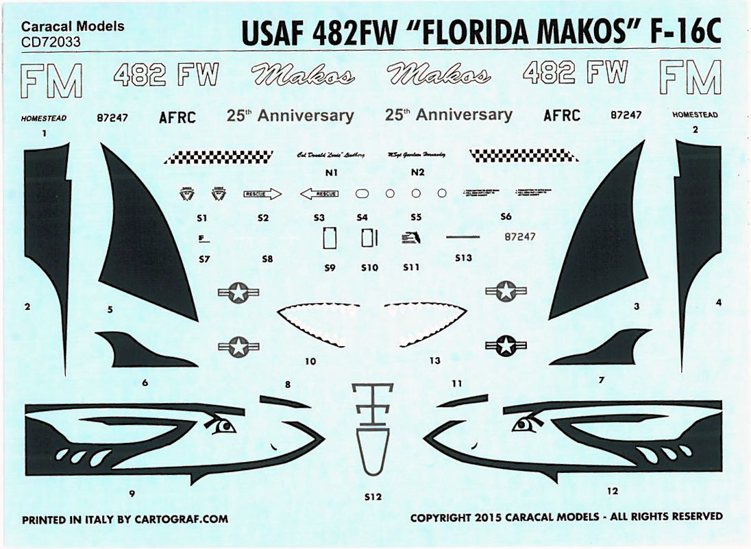 F 16 Viper >> Review: F-16C Florida Makos | IPMS/USA Reviews