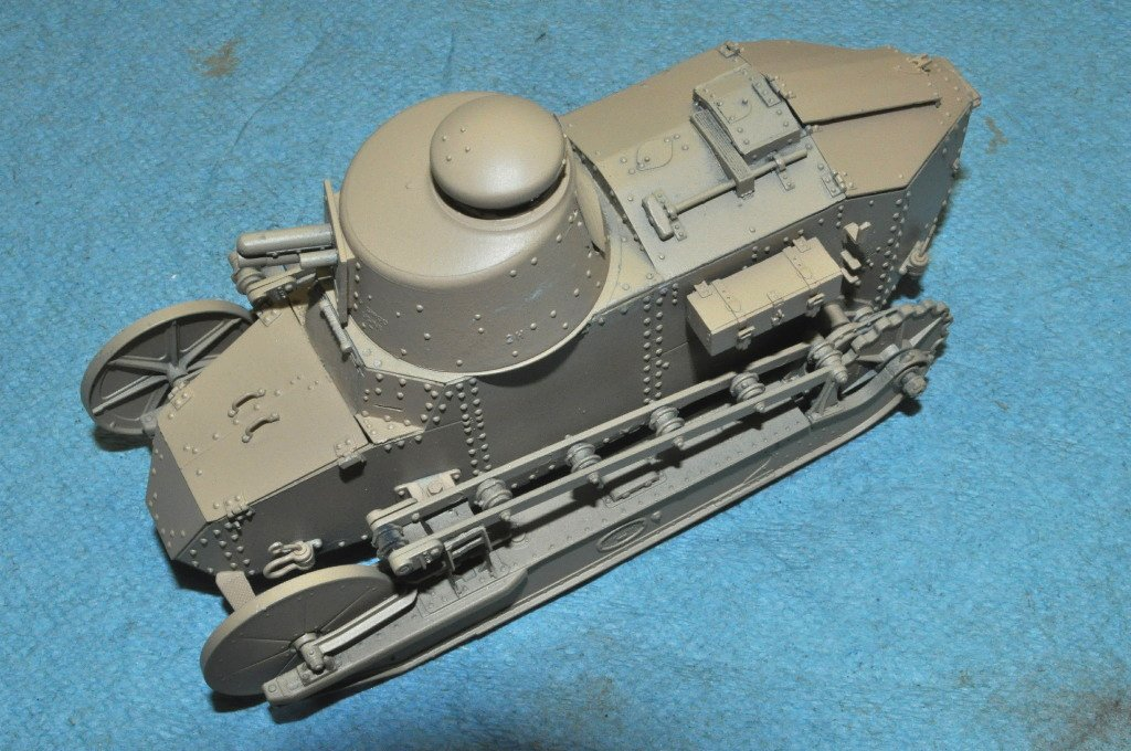 Review Ft 17 French Light Tank Ipms Usa Reviews
