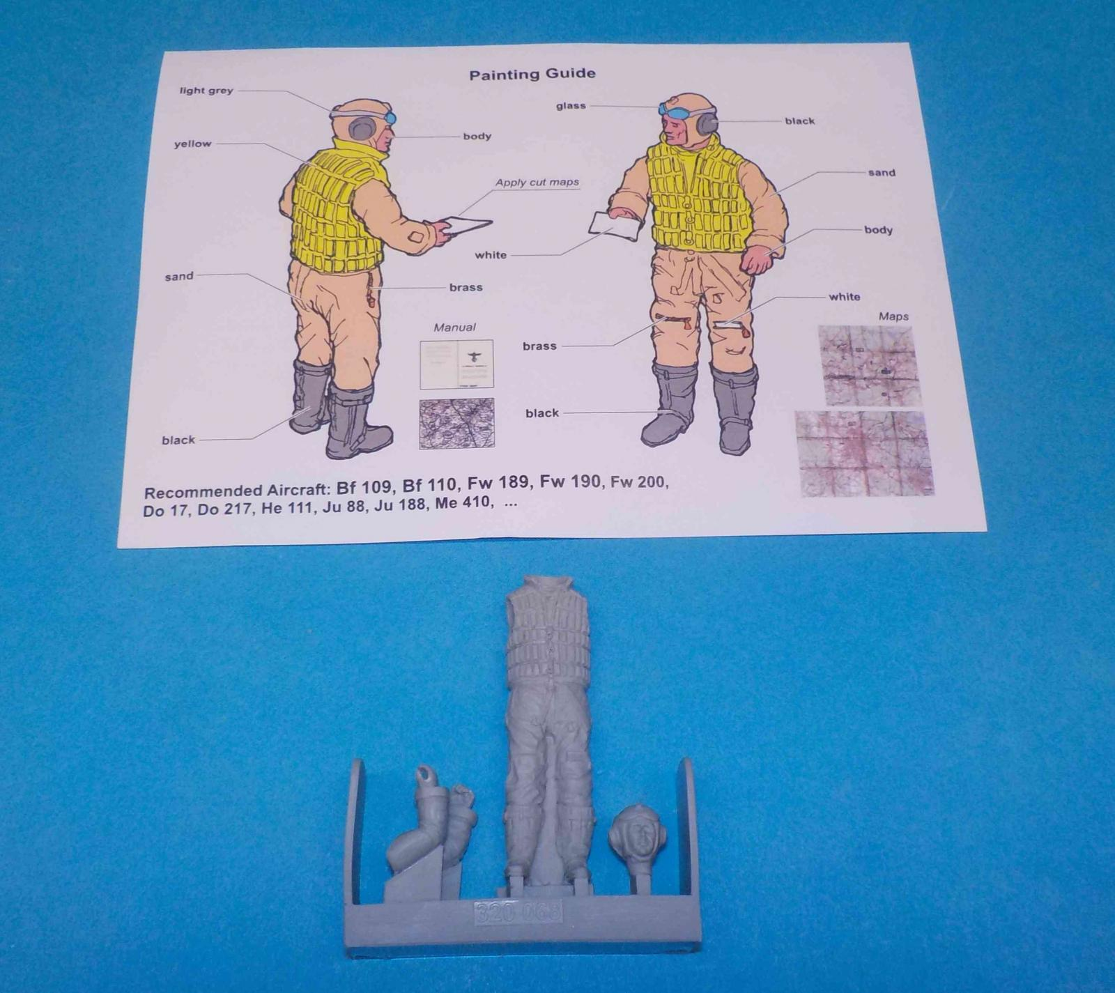 Review: German Luftwaffe Pilot WWII with Life Vest   IPMS ...
