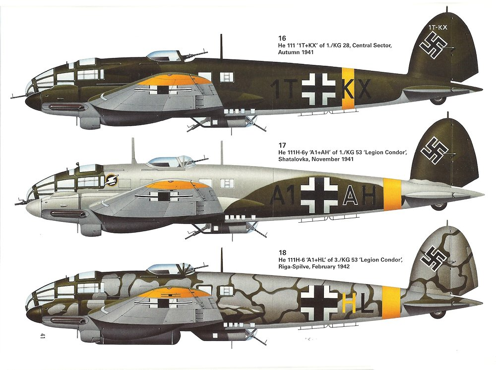 Review He 111 Kampfgeschwader On The Russian Front Ipms