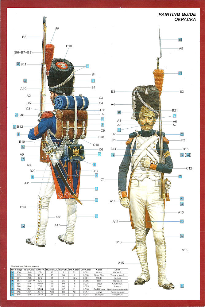 Review Imperial Guard French Grenadier Napoleonic Wars