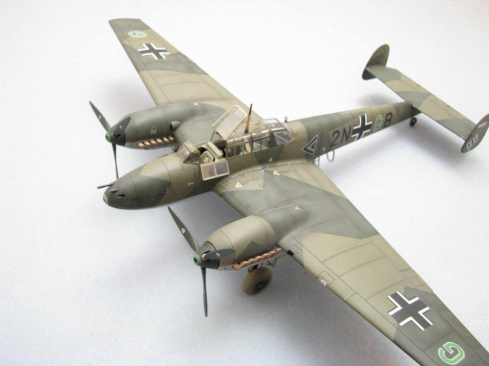 Review: Messerschmitt Bf-110C/D | IPMS/USA Reviews
