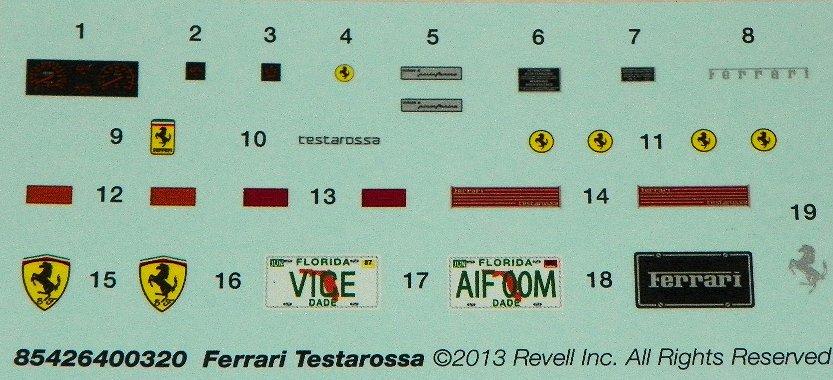 Review Miami Vice Ferrari Testarossa Ipms Usa Reviews