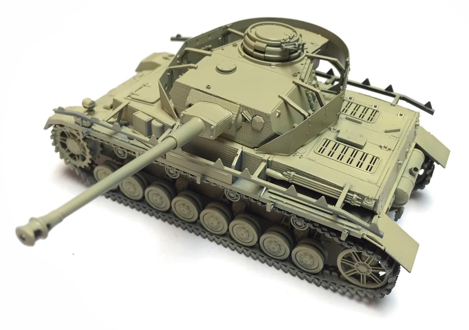 H Pzkpfw Iv Ausf Tamiya 32584-1//48 WWII Dt Late - Neu