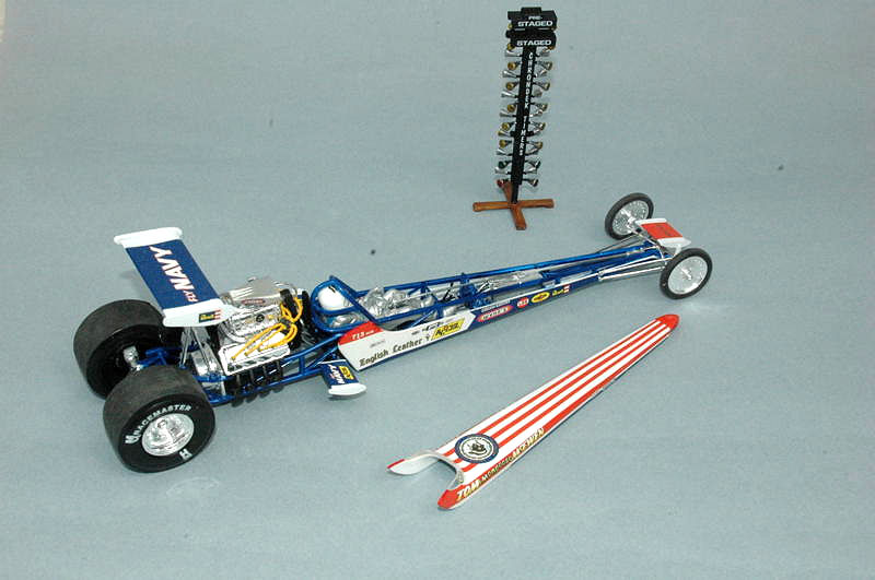 Review: Tom 'The Mongoose' McEwen Rail Dragster | IPMS/USA