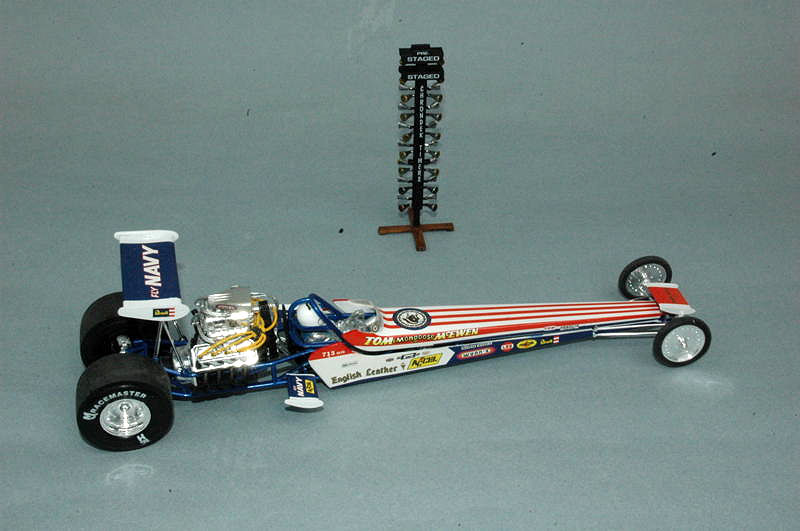 Review: Tom 'The Mongoose' McEwen Rail Dragster | IPMS/USA Reviews
