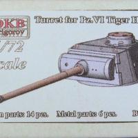Turret for Pz.VI Tiger H2